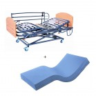 Cama articulada electrica Full GS 90+colchon visco