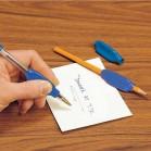 Manguito escribir color azul