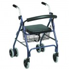 Andador para ancianos Rollator freno presion