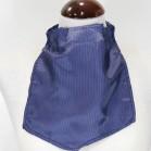 Pañuelo de Traqueotomia Seda Azul con lineas 39