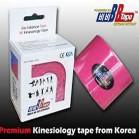 Venda Tape Neuromuscular 5 cm x 5 m Rosa