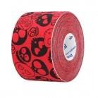 Venda Tape Neuromuscular 5 x 5 Calavera roja