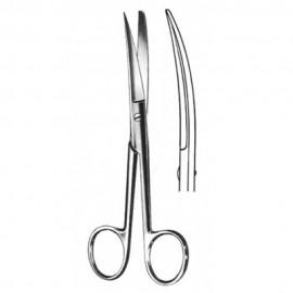 4105-011-014_Tijera Cirugía Curva  A/R 14 cm  Tx