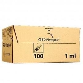 4803-120-001_Jeringa 1 ml. Plastipak  B-D s/aguja cono luer