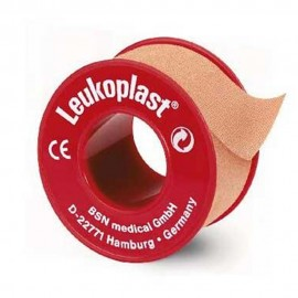 5001-120-002_Esparadrapo Leukoplast Tela color carne 5 cm x 5 m