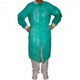 5306-337-009_Bata Protectora Plastificada Manga puño trico Verd