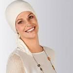 1410-187-011_Pañuelo Quimioterapia Tulip Ivory 42780