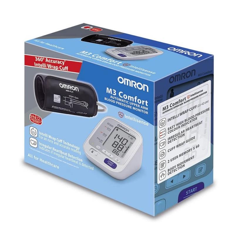 3902-213-010_01_Tensiómetro Digital Omron  M 3 Confort