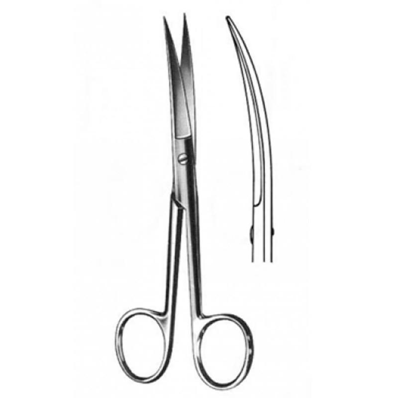 4105-011-013_Tijera Cirugía Curva  A/A 14 cm  Tx