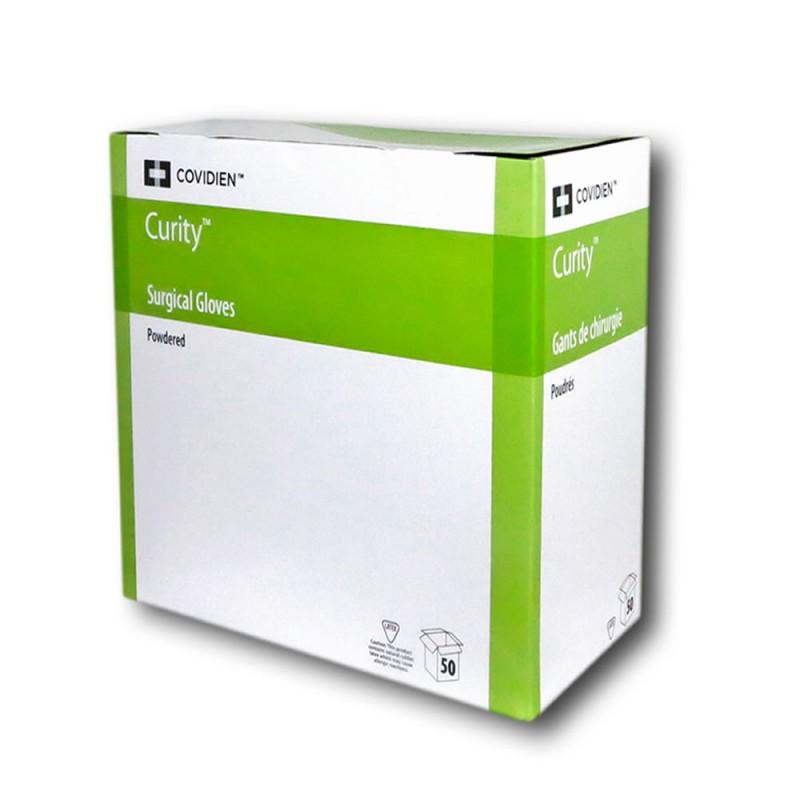 4708-175-003_Guantes Cirugía Latex con polvo Curity  T. 6 1/2