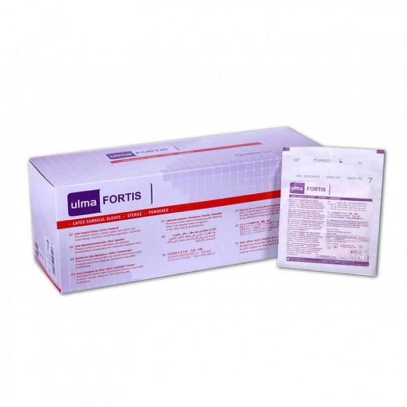4709-303-002_Guantes Cirugía Latex sin polvo T  T. 6 1/2
