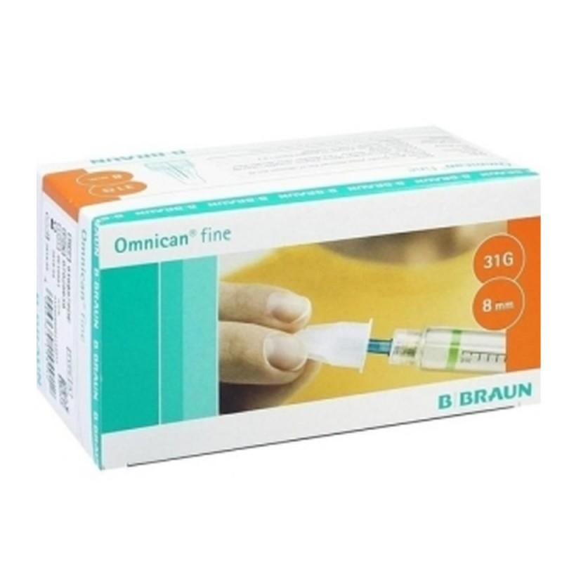 4804-227-032_Aguja para pluma insulina Ominican Fine 31G X8 mm