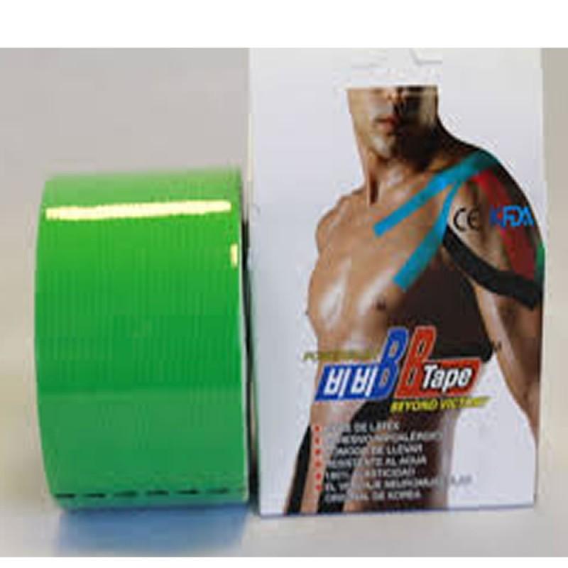 4910-300-006_Venda Tape Neuromuscular 5 x 5 Verde