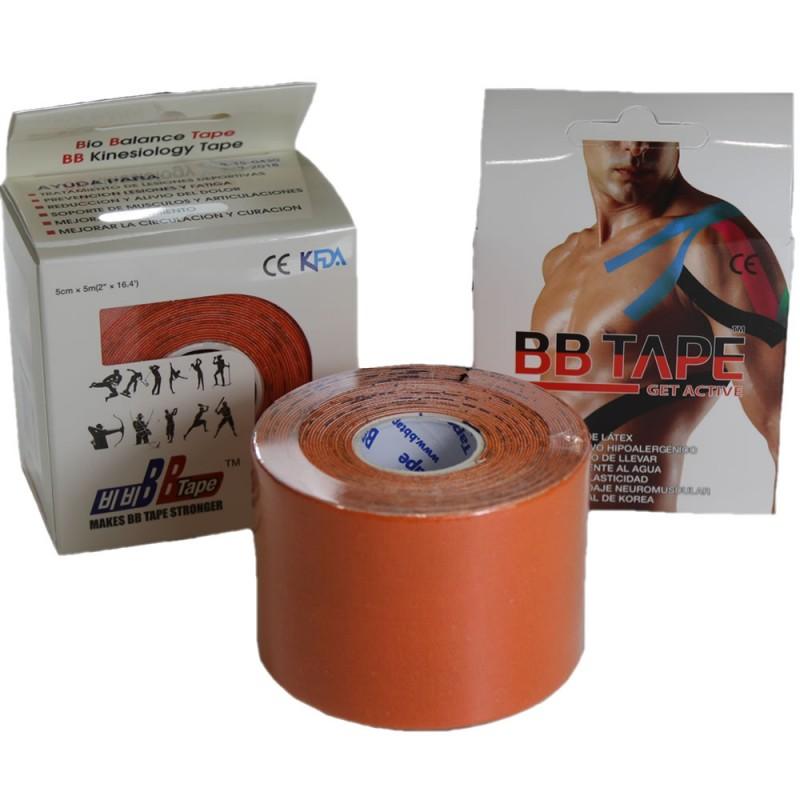 4910-300-007_Venda Tape Neuromuscular 5 cm x 5 m Naranja