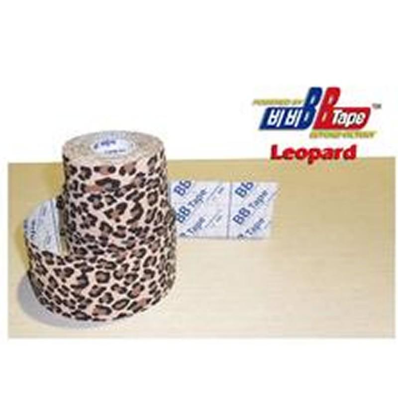 4910-300-012_Venda Tape Neuromuscular 5 x 5 Leopardo