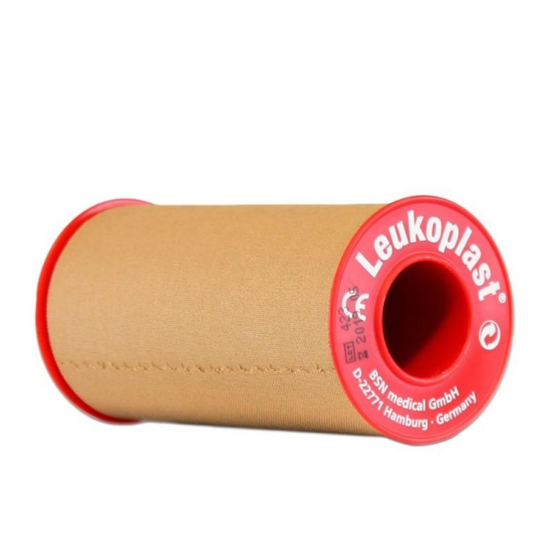 5001-120-003_Esparadrapo Leukoplast Tela color carne 10 cm x 5m