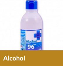 Alcohol Desinfectante para Heridas