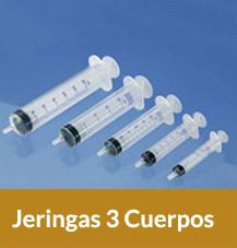 Jeringas 3 Cuerpos