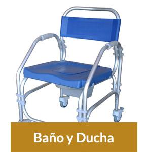 Sillas Ortopédicas para Ducha y Baño